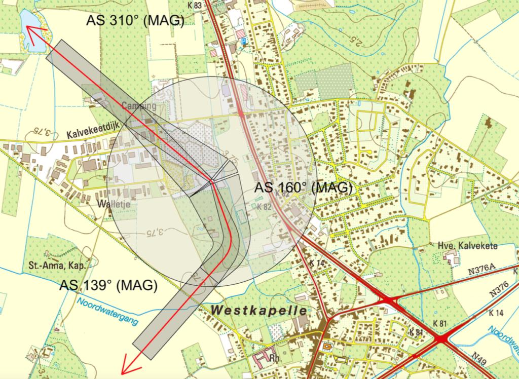 EBKW Knokke Heliport Procedure 1