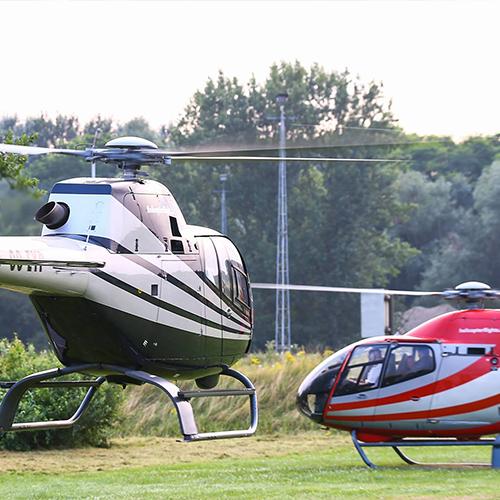 Helikoptervlucht Knokke