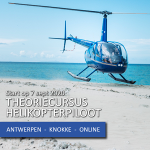 Lees meer over het artikel Start theoriecursus PPL helikopter