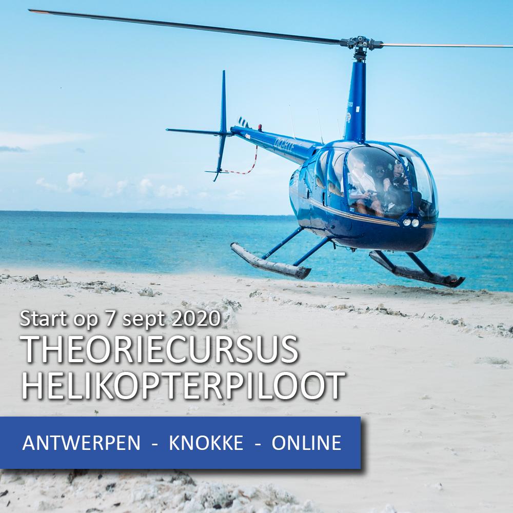Je bekijkt nu Start theoriecursus PPL helikopter