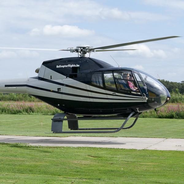 Origineel cadeau helikoptervlucht 15 min