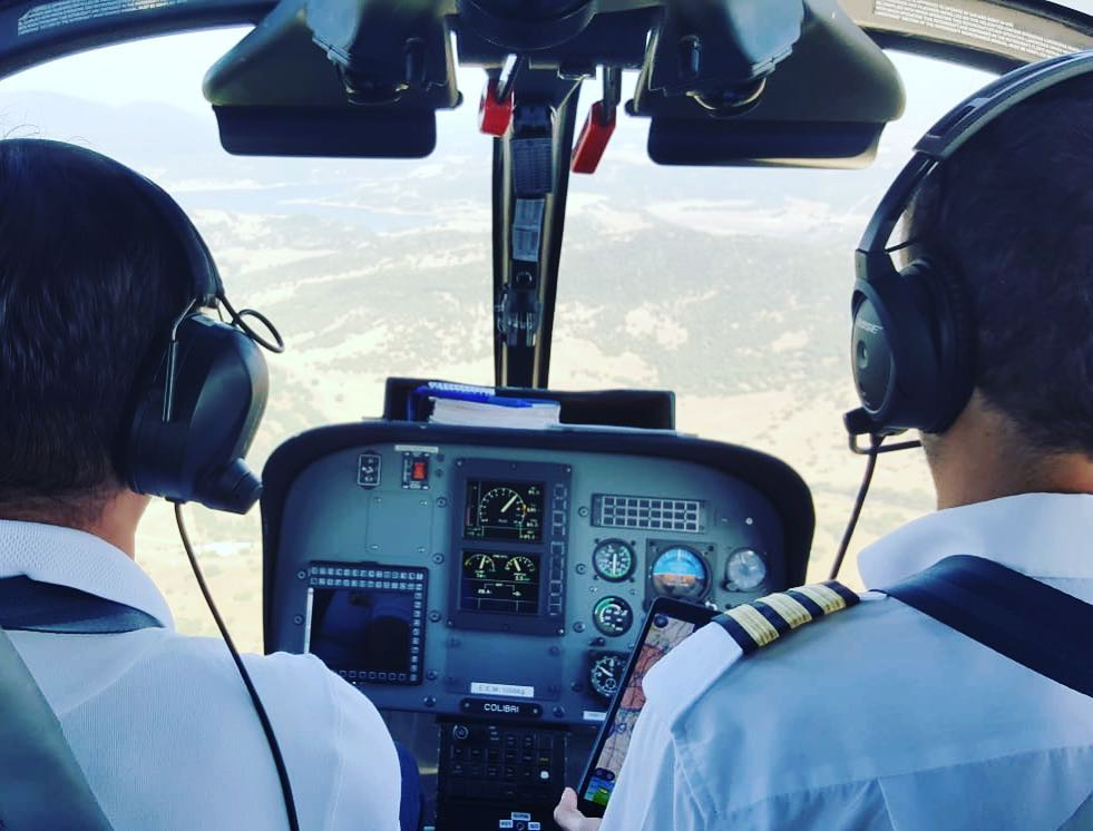 Opleiding helikopterpiloot training helikopter school