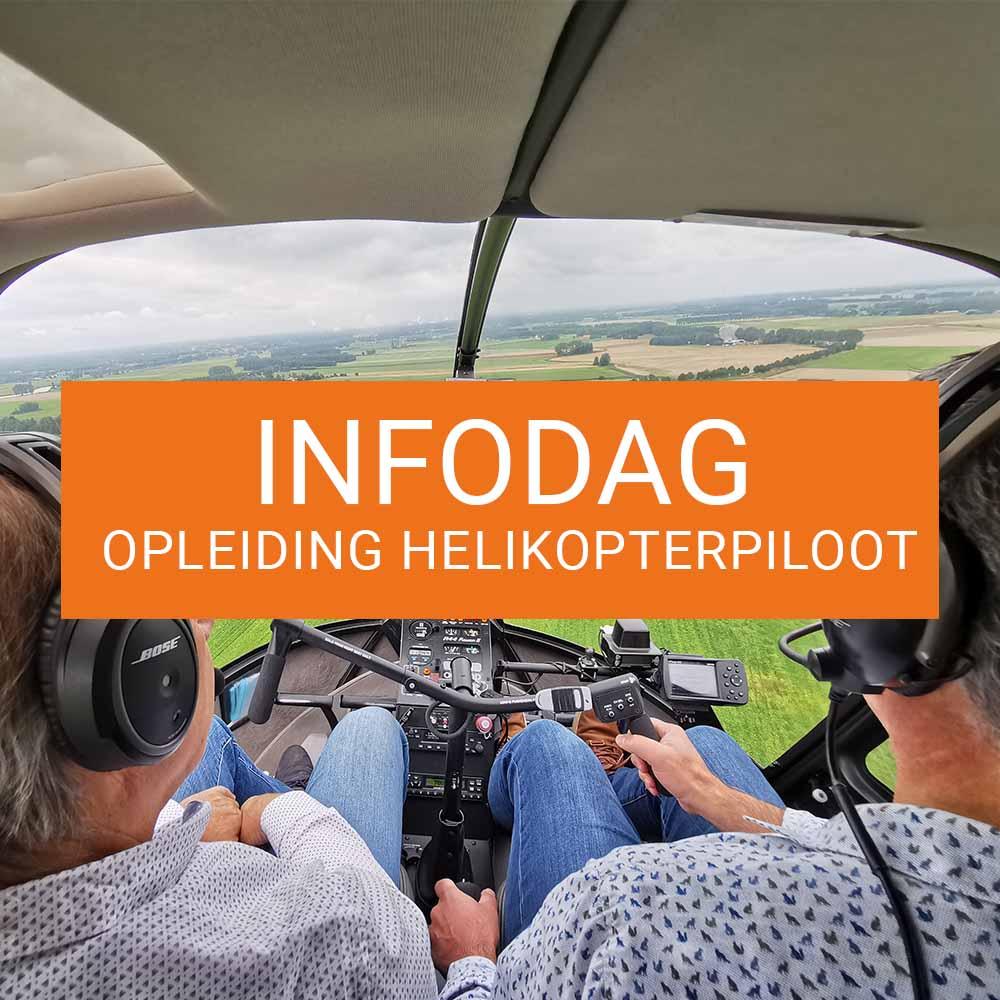 Je bekijkt nu Infodag Opleiding Helikopterpiloot